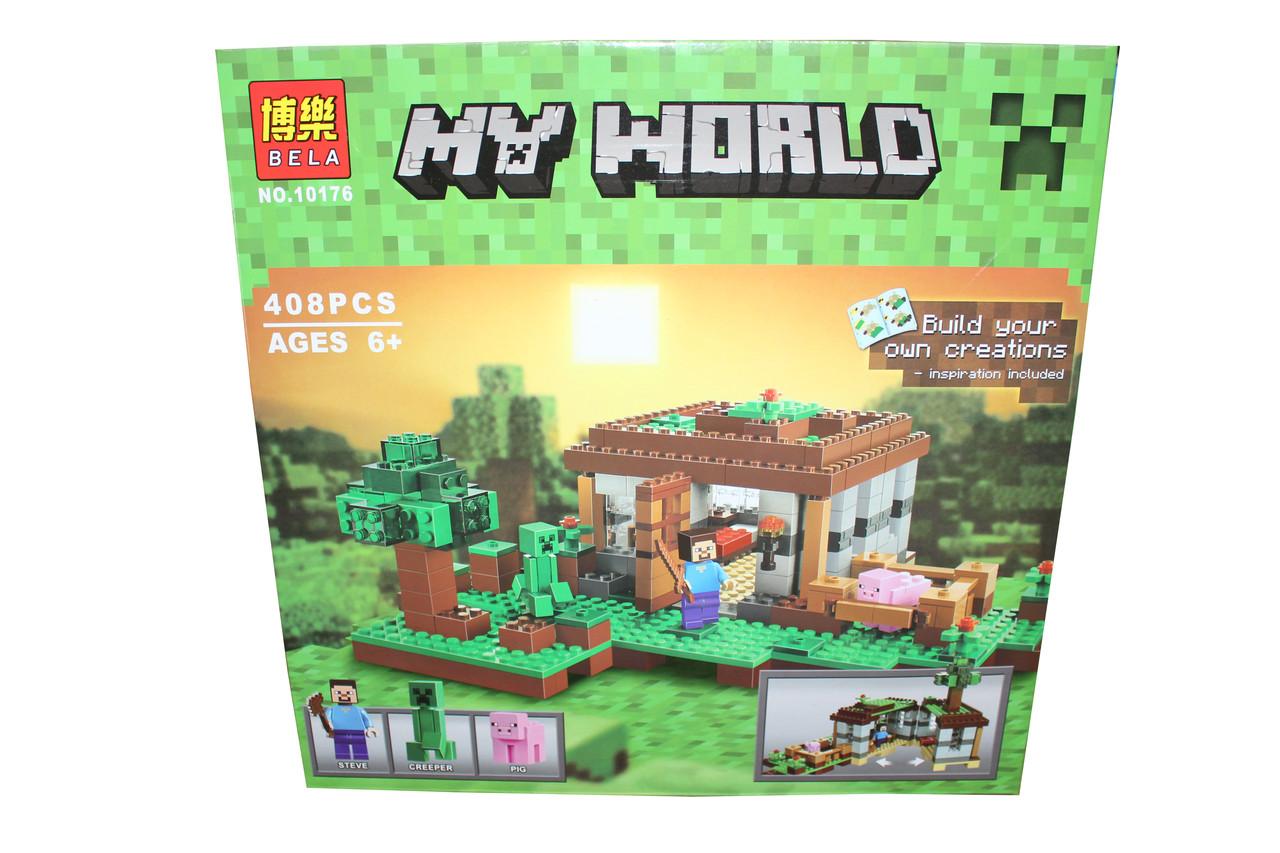 Лего майнкрафт My World 10176