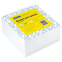 Бумага для заметок с клейким краем 76x76 100л. Neon желтый Deli # 02302YE