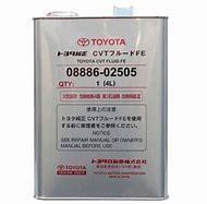 Трансмиссионное масло для Toyota CVT Fluid FE 08886-02505 4литра 2014-->