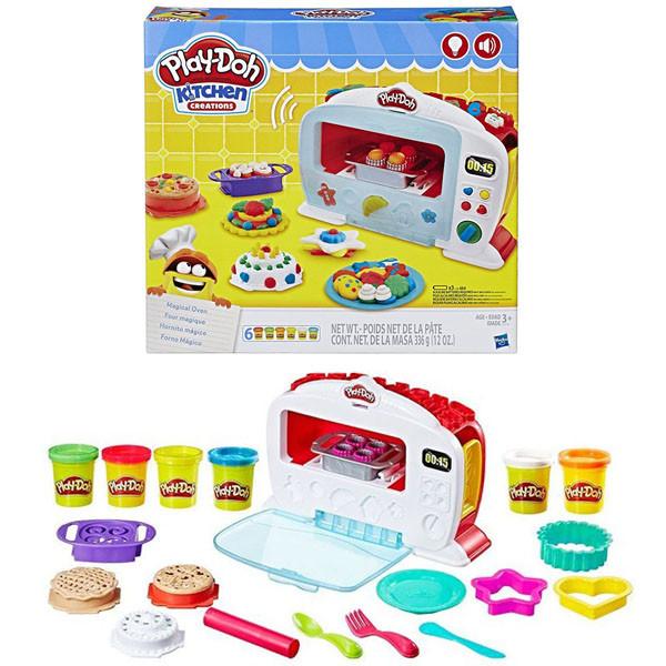 Игровой набор Hasbro Play-Doh ПЛЭЙ-ДО ИГРОВОЙ  НАБОР ЧУДО ПЕЧЬ (Игровой набор Hasbro Play-Doh ПЛЭЙ-ДО ИГРОВОЙ НАБОР ЧУДО ПЕЧЬ)