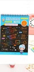 Скретч блокноты раскраски «Scratch note» №2, 20*28 см, Алматы