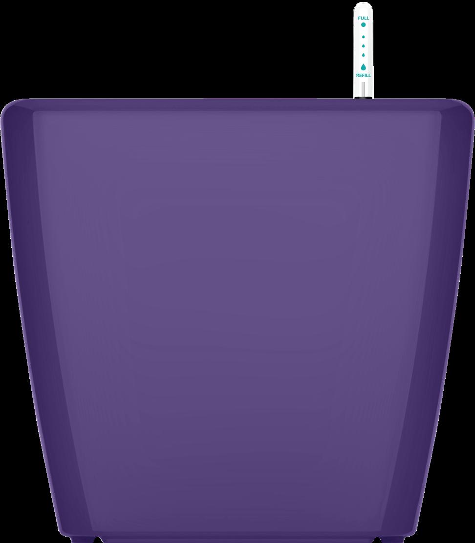 Фиолетовый кашпо с автополивом 43,х40cmH