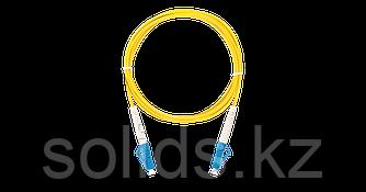 Патч-корд соединительный LC/UPC-LC/UPC одинарный, LSZH, 1м
