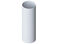 Труба водосточная из ПВХ Gamrat (цвет белый) d=110мм