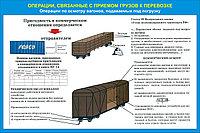 Плакаты Операции по приему грузов к перевозке, фото 1