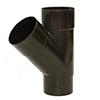 Тройник водосточной трубы из ПВХ Gamrat (коричневый) d=110мм