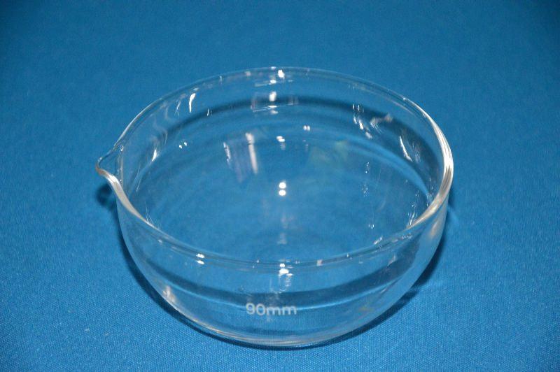 Чашка выпарительная плоскодонная ЧВП-2 (90мл; d=80мм) ТС