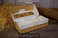 Коробка с окном 500мл 170*70*40 (Eco Tabox 500 GL) DoEco (100/400), фото 6
