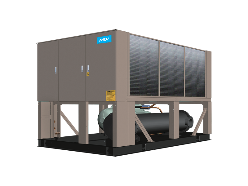 Чиллер MDV AQUA FORCE: LSBLGW500/C (с воздушным охлаждением конденсатора с винтовым компрессором)