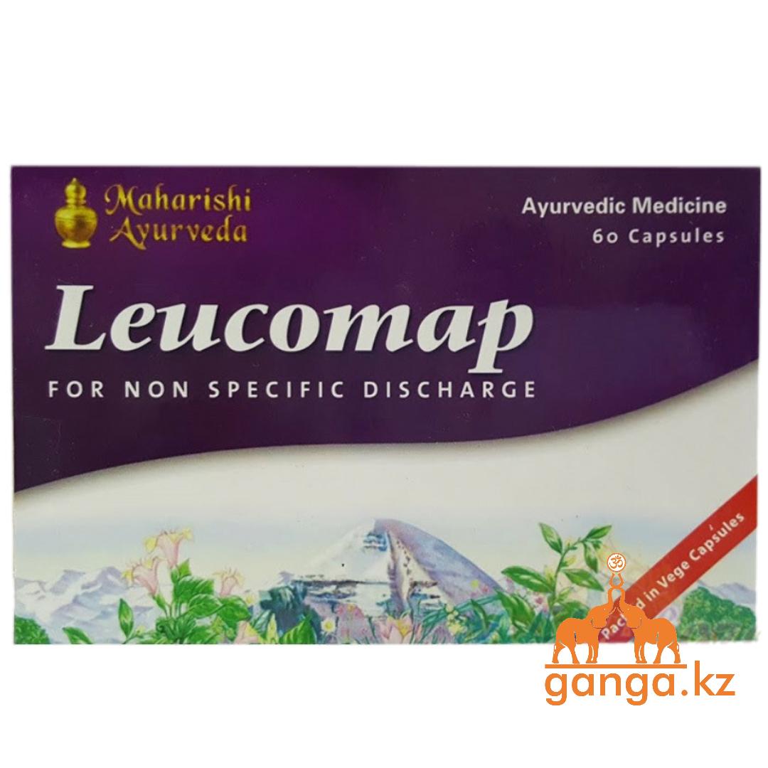Лейкомап - при неспецифических влагалищных выделениях (Leucomap MAHARISHI AYURVEDA), 60 кап.