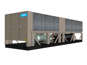 Чиллер MDV AQUA FORCE: LSBLGW1200/C (с воздушным охлаждением конденсатора с винтовым компрессором), фото 2