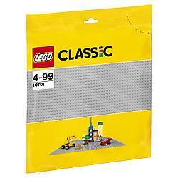 10701 Lego Classic Строительная пластина серого цвета, Лего Классик