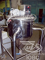 Емкость передвижная (дежа) из нержавеющей стали