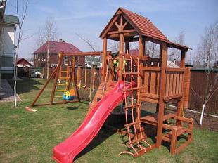 Детские деревянные комплексы