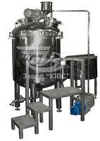Реакторы для крема, шампуней , косметических средств