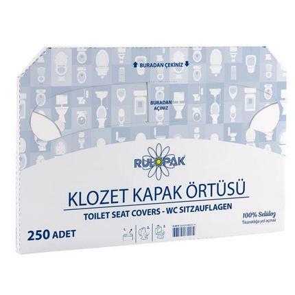 Одноразовые настилы для унитаза (Турция), фото 2