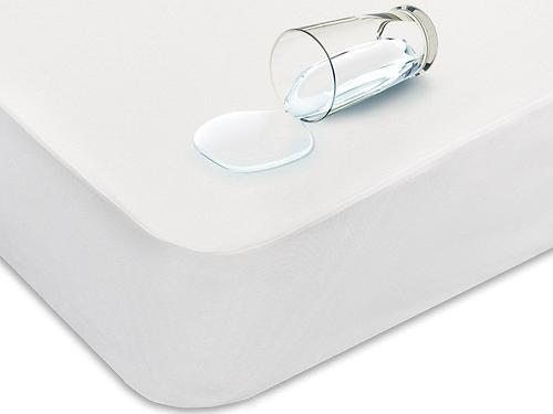 Наматрасник с боковинами (бока из водонепроницаемой ткани) 160х200х25 см