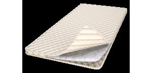Наматрасник-топпер из синтепона, ткань бязь/сатин, 80х200 см