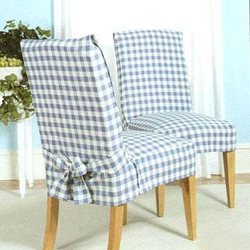"""Масло-грязе-водо-отталкивающие чехлы на стулья """"Классик"""""""