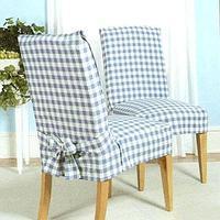 """Маслозащитные грязезащитные водоотталкивающие чехлы на стулья """"Классик"""""""