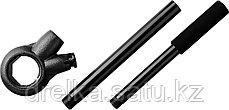 Трещотка MIRAX с удлинителем для клуппов, 1/4" - 1 1/4", длина 620мм, фото 2