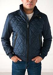 Куртка демисезонная Vivacana короткая, синяя