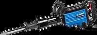 """Молоток отбойный """"Бетонолом"""", ЗУБР Профессионал ЗМ-50-2000 ВК, HEX28, 50 Дж, 20 кг, 1400 уд/мин, 2000 Вт, АВТ,"""