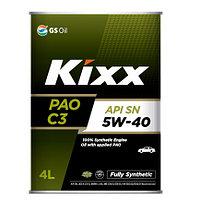 Моторное масло Kixx PAO 5W40  4литра