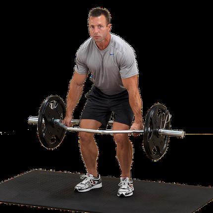 Трэп гриф с параллельным хватом до 140 кг (ХРОМ), фото 2