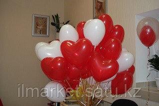 Гелиевые шары сердца на день влюбленных - фото 8
