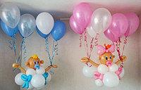 Ляльки на гелиевых шарах под потолок