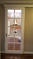 Раздвижная нестандартная межкомнатная дверь
