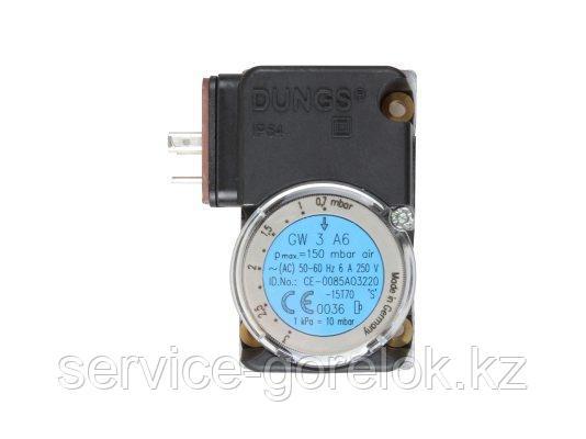 Реле давления газа DUNGS GW 3 A6