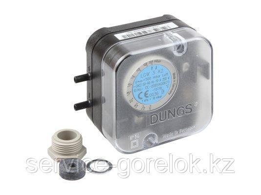 Реле давления DUNGS LGW 3 A2 клеммное соединение