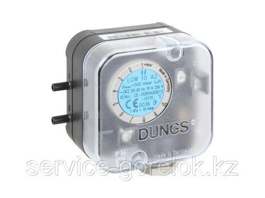 Реле давления DUNGS LGW 10 A2 клеммное соединение
