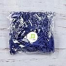 Бумажный наполнитель для оформления подарков. Цвет - Синий 100 гр., фото 2