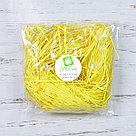 Бумажный наполнитель для оформления подарков. Цвет - Лемон 30 гр., фото 2