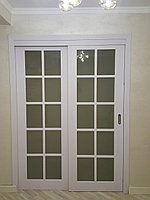 Раздвижная межкомнатная дверь внутри проема