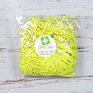 Бумажный наполнитель для оформления подарков. Цвет - Желтый (HP) 30 гр., фото 2