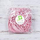 Бумажный наполнитель для оформления подарков. Цвет - Розовый 30 гр., фото 2