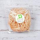 Бумажный наполнитель для оформления подарков. Цвет - Персиковый 30 гр., фото 2