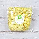 Бумажный наполнитель для оформления подарков. Цвет - Желтый 100 гр., фото 2