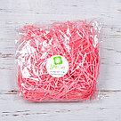 Бумажный наполнитель для оформления подарков. Цвет - Розовый (HP) 30 гр., фото 2