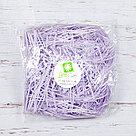Бумажный наполнитель для оформления подарков. Цвет - Лаванда 30 гр., фото 2