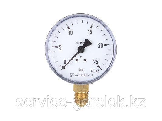 Жидкотопливный манометр AFRISO 0 - 25 бар