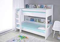 Кровать двухъярусная SIMPLE 5000 белый (Polini, Россия)