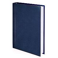 """Ежедневник BRAUBERG недатированный, А5, 138х213 мм, """"Forte"""", под перламутровую кожу, 160 л., синий, 126168, фото 1"""