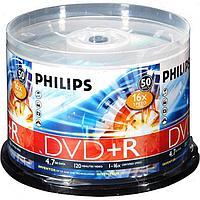 Диски Philips DVD+R 16X 4.7 GB