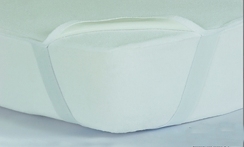 Наматрасник 200х200 SUPERSUNNY водонепроницаемый с резинкой на углах