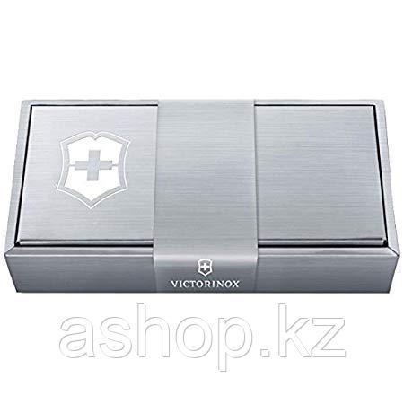 Коробка подарочная для ножей с лезвием 91мм увеличеный Victorinox 4.0289.2, Цвет: Серебристый